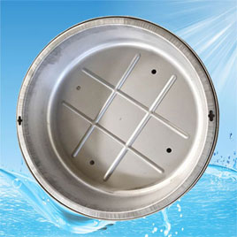 Stainless Steel Plant Grass Manhole Cover