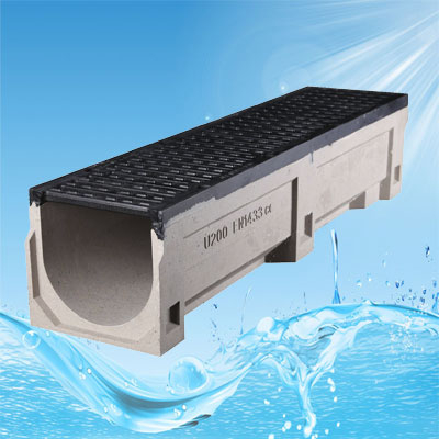 EN1433 E600 Drains With Ductile Cast Iron Grate