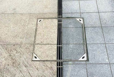 Introduction and cases' effect pictures of stainless steel slot drain